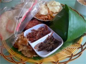 paket nasi timbel