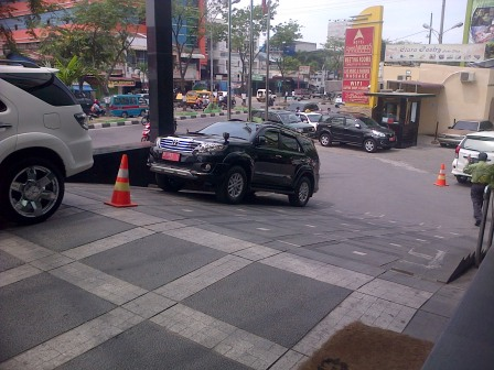 parkir cape